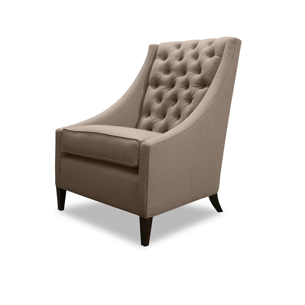 Brookline Tufted Dining Chair | Tufted Chair | Tufted Leather Dining Room Chairs