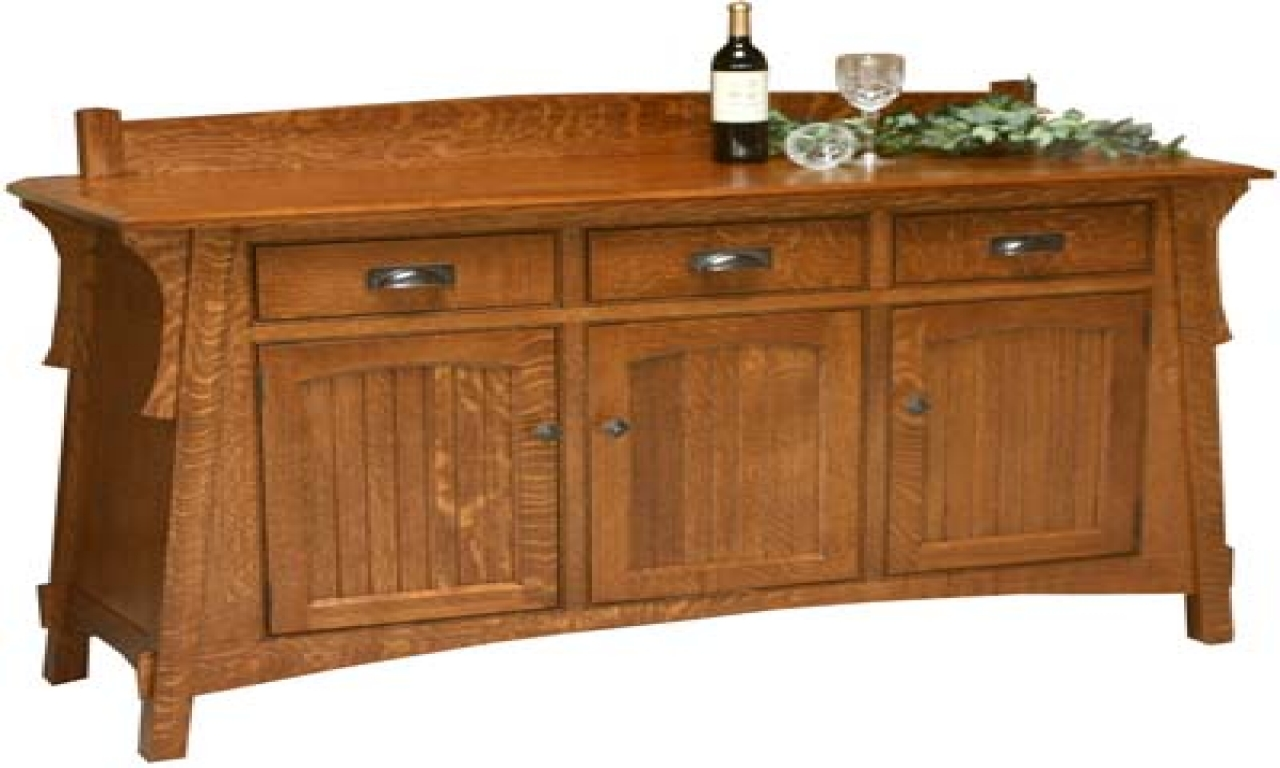 Buffets and Sideboards | Sideboard and Buffet | Mirrored Sideboard