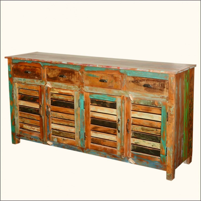 Buffets And Sideboards | Turquoise Sideboard | China Hutch And Buffet