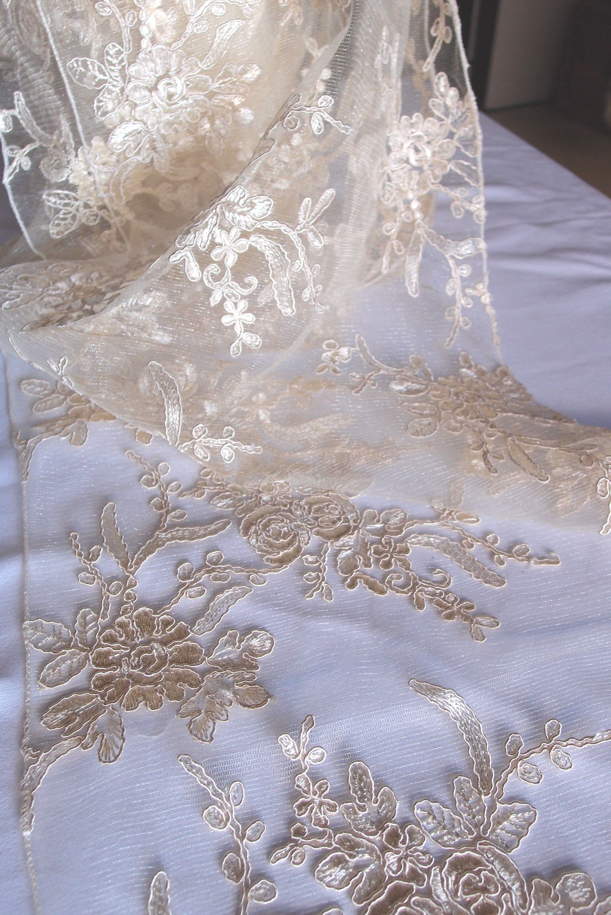 Bulk Lace Table Runners | Beaded Table Runner | Lace Table Runners