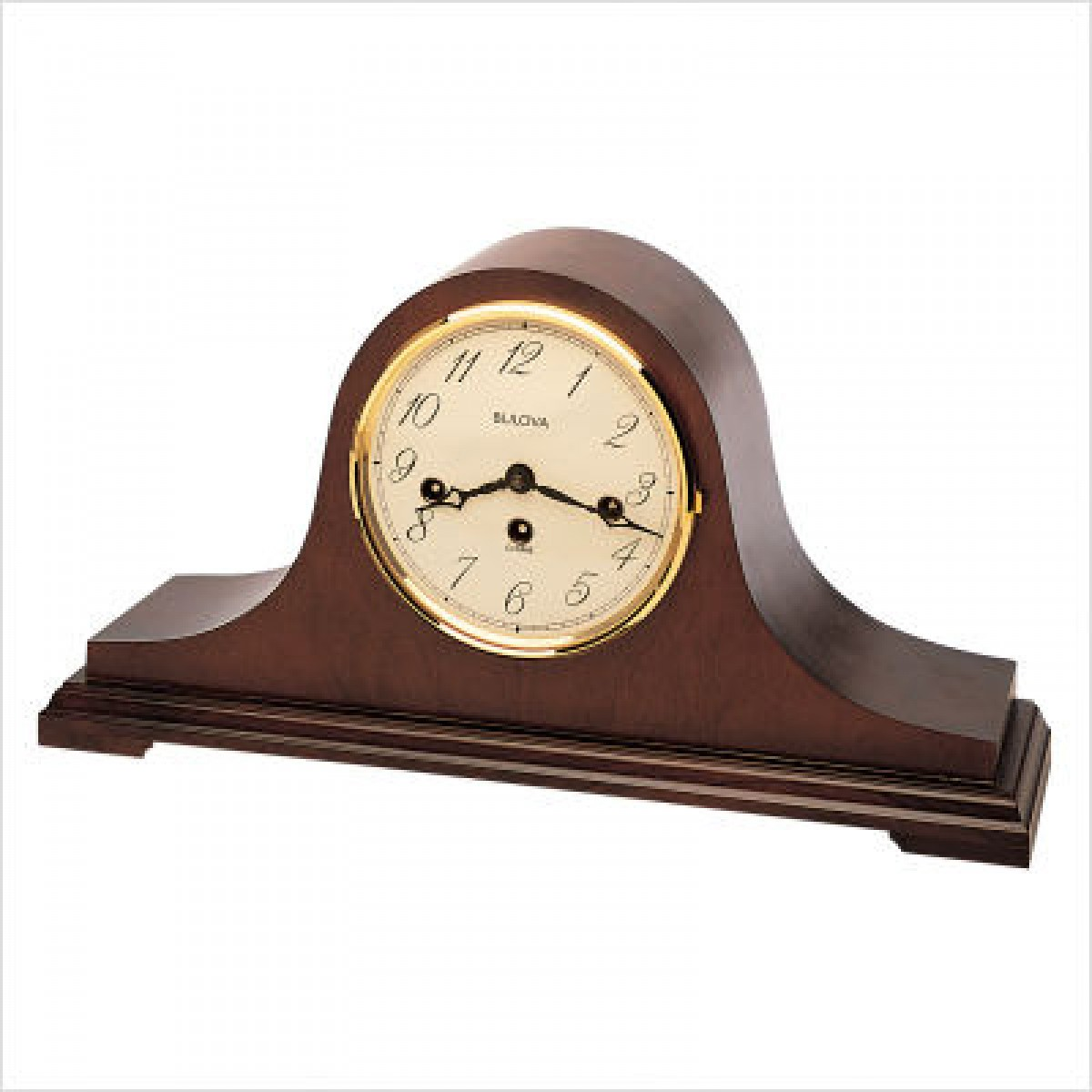 Bulova Holyoke Quartz Desk Clock | Bulova Desktop Clock | Bulova Mantel Clock