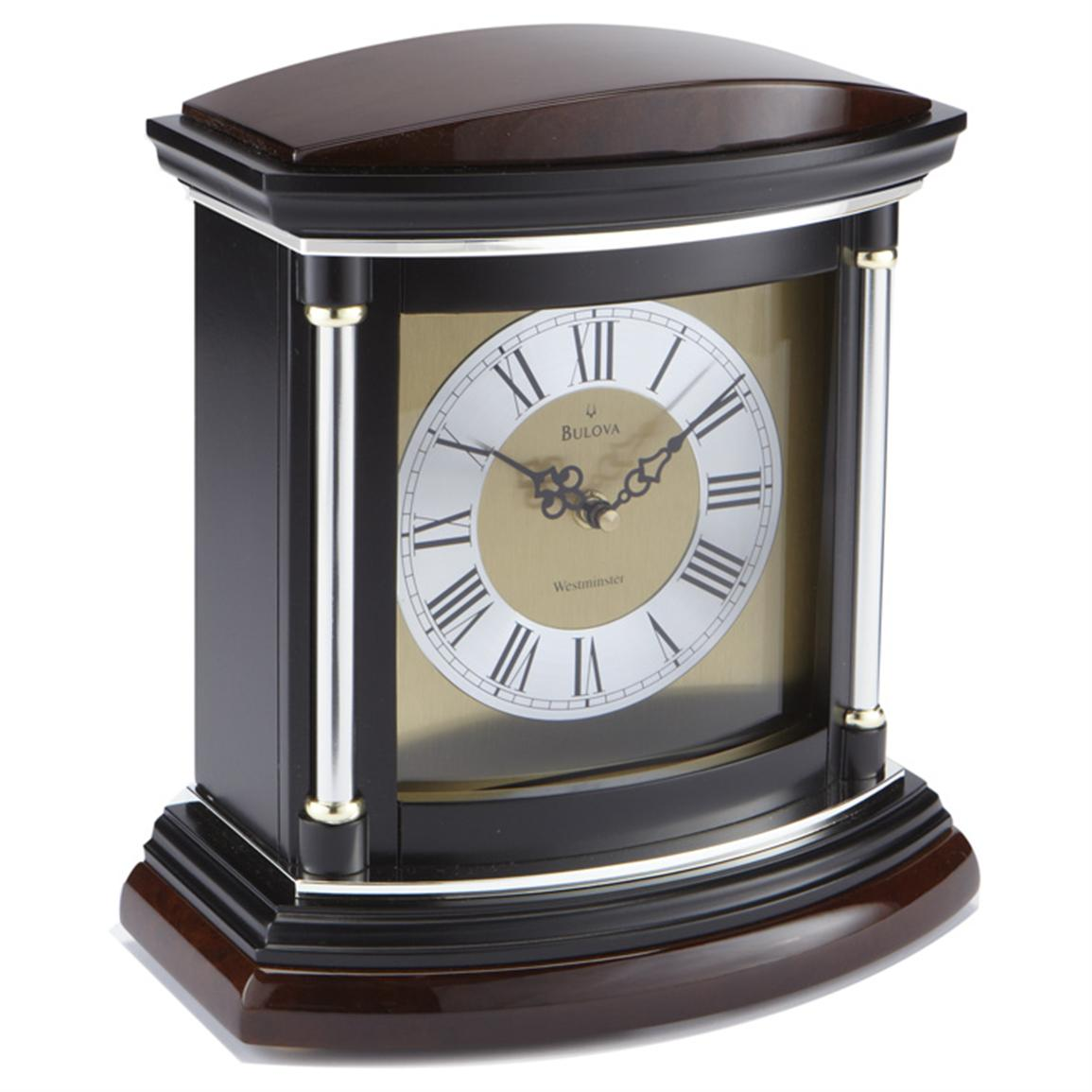 Bulova Mantel Clock | Art Deco Style Mantel Clocks | Www Bulova Com