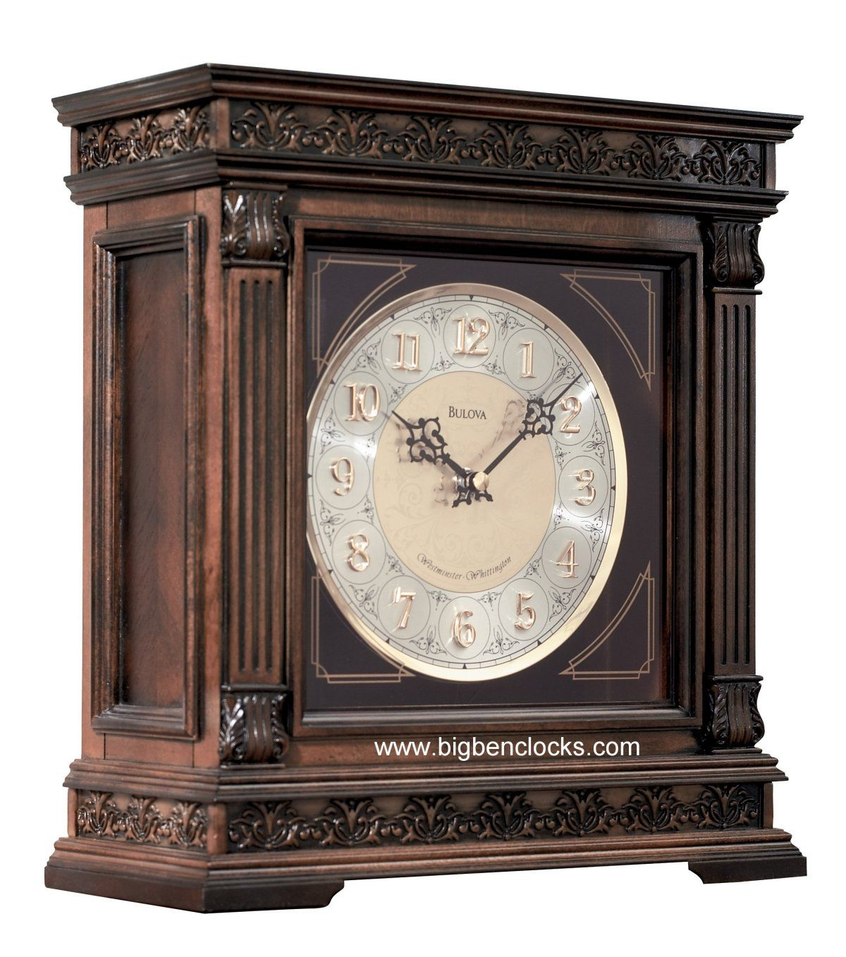 Bulova Mantel Clock | Bulova Grandfather Clocks | Modern Mantle Clock