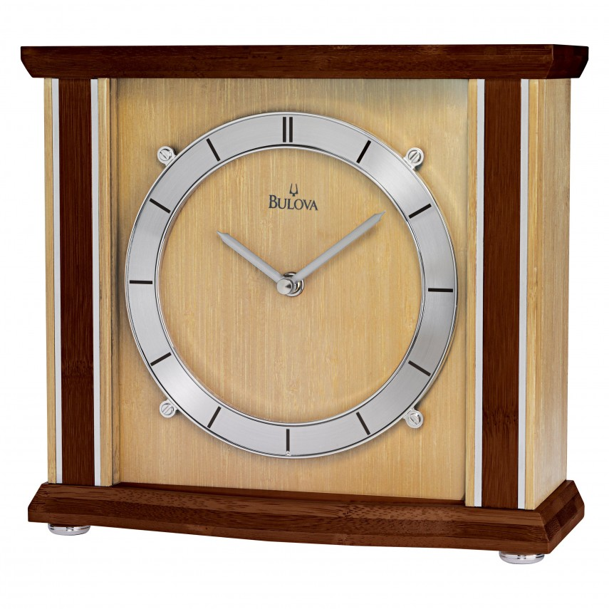 Bulova Mantel Clock | Bulova Quartz Wall Clock | Bulova Chiming Mantel Clock