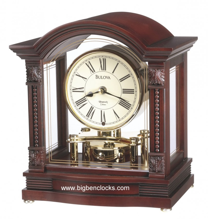 Bulova Mantel Clock | Fireplace Mantel Clocks | Wentworth Clock