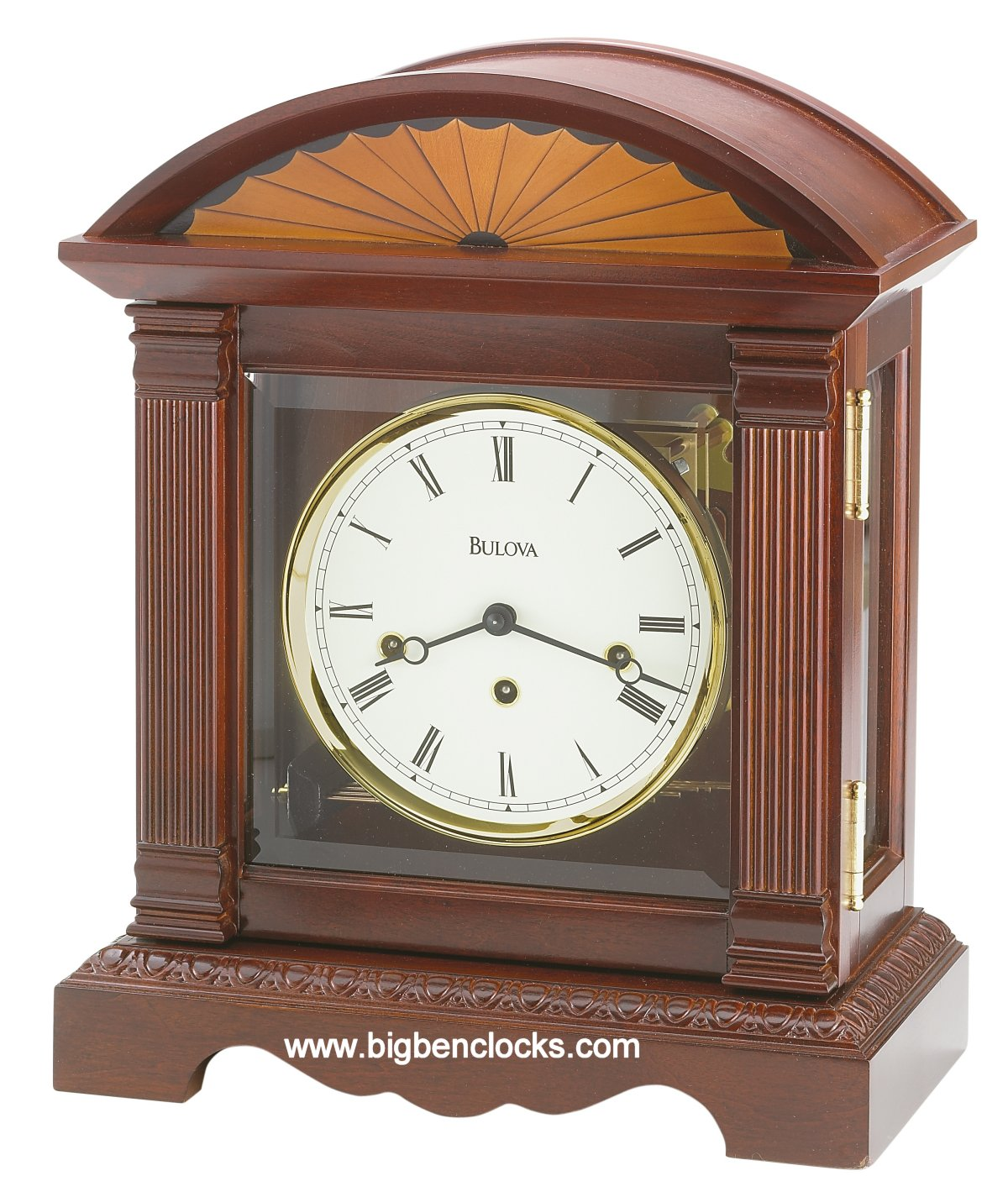 Bulova Mantel Clock | Modern Mantel Clocks | Chiming Mantel Clocks for Sale
