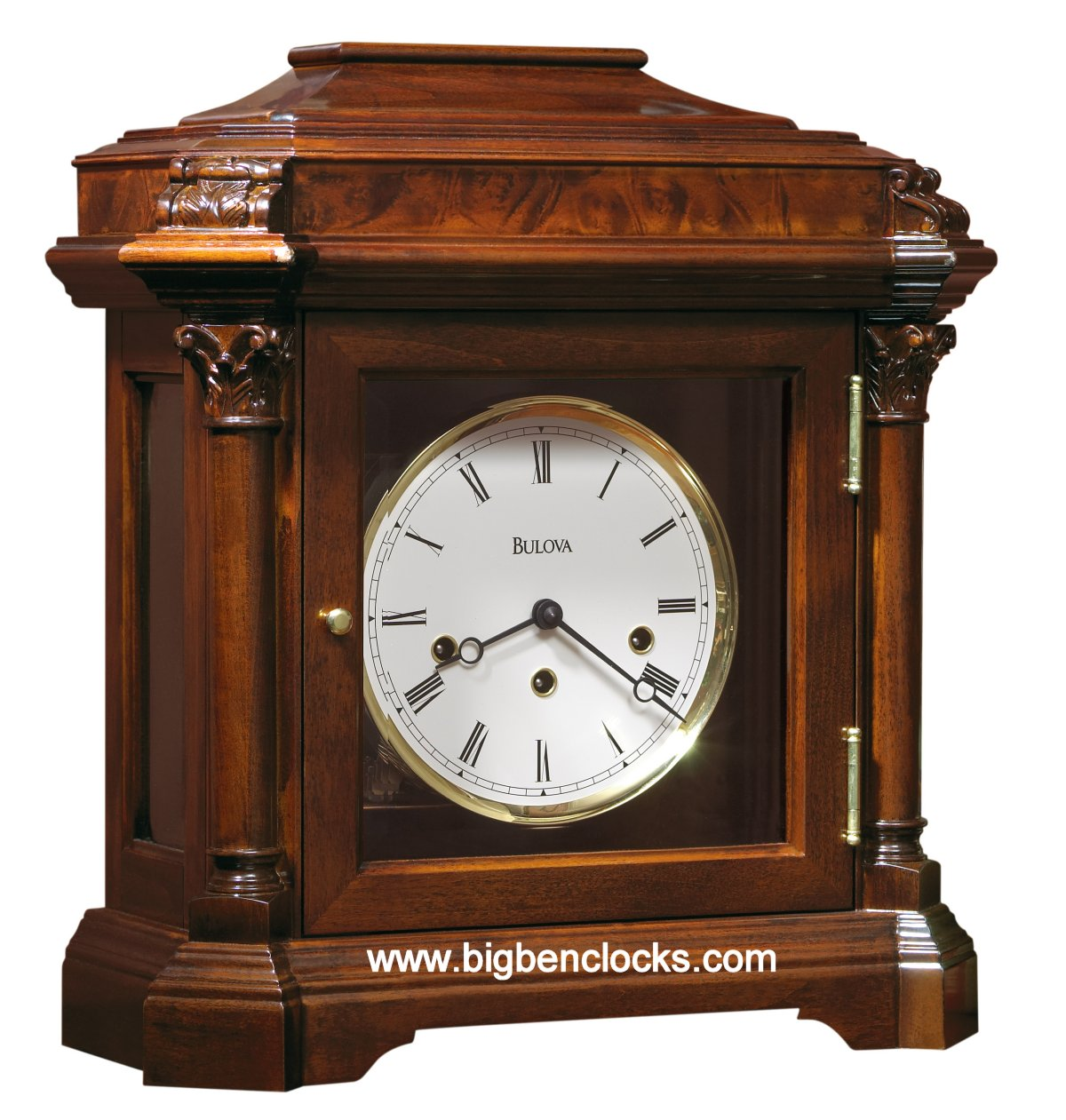 Bulova Mantel Clocks | Bulova Mantel Clock | Bulova Desktop Clock