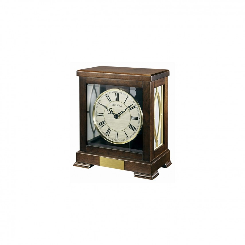Bulova Mantle Clock | Bulova Mantel Clock | Bulova Chadbourne Chiming Mantel Clock
