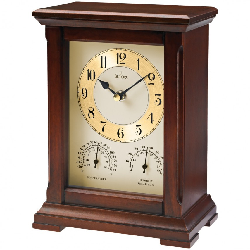 Bulova Quartz Clock | Wentworth Clock | Bulova Mantel Clock