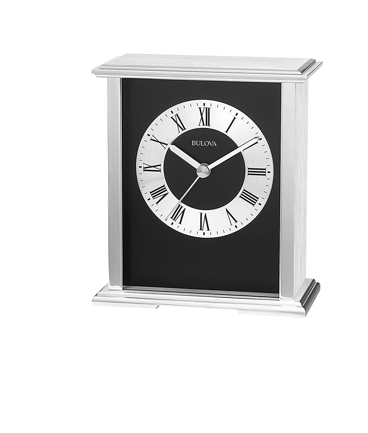 Bulova Thayer Mantel Clock | Bulova Mantel Clock | Bulova Holyoke Quartz Desk Clock