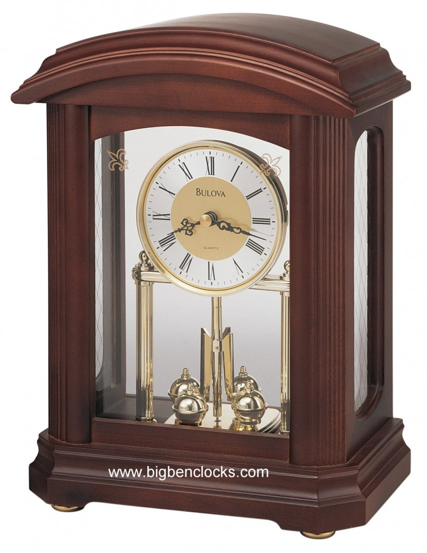 Bulova Wall Clocks Pendulum | Modern Mantel Clock | Bulova Mantel Clock