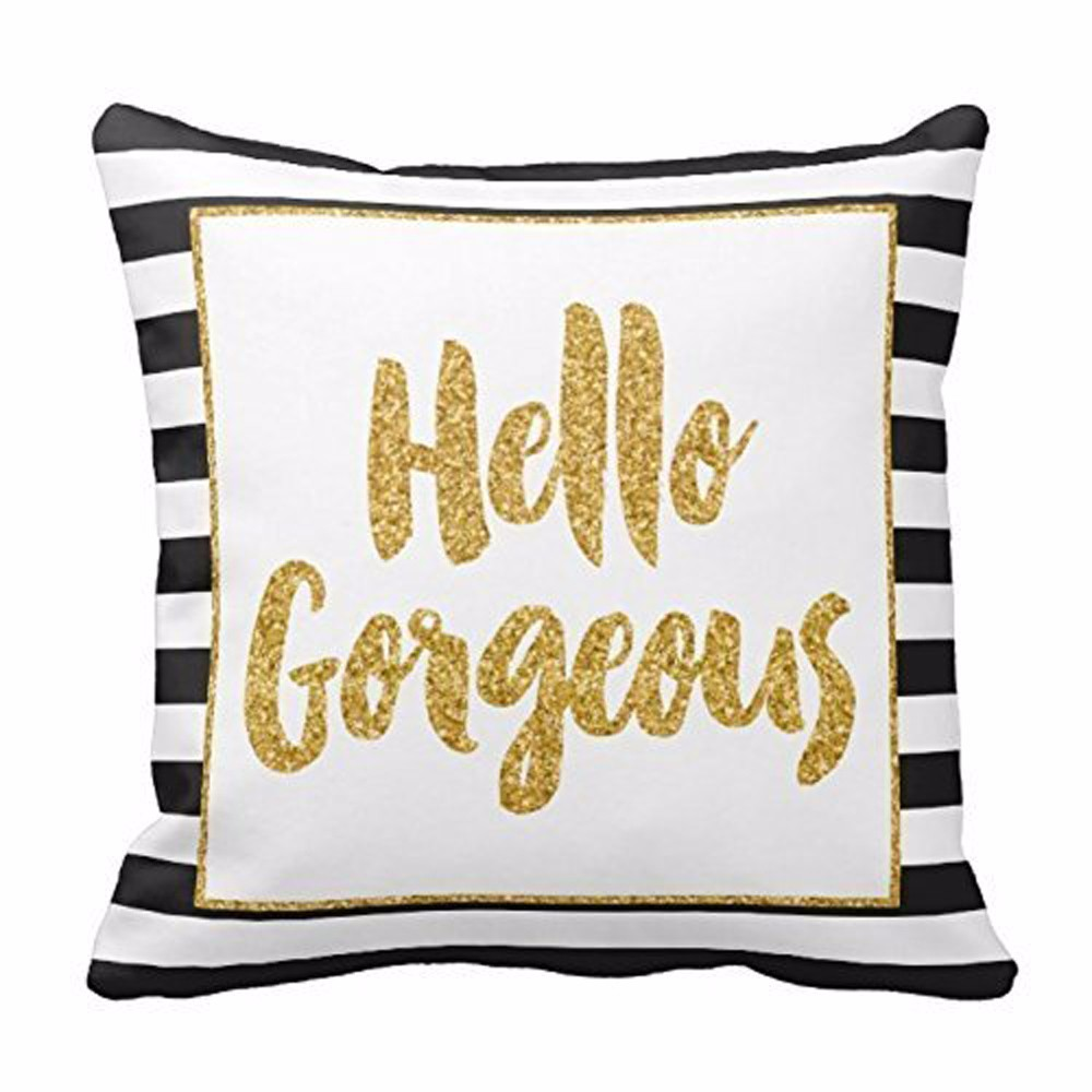 Burgundy Throw Pillows | Gold Throw Pillows | Silver Beaded Pillow