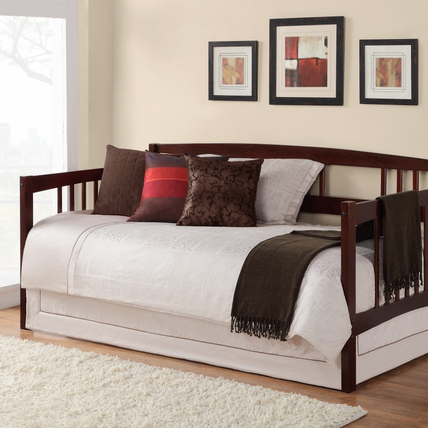 Captains Bed With Trundle | Full Size Daybed With Trundle | Cheap Trundle Beds