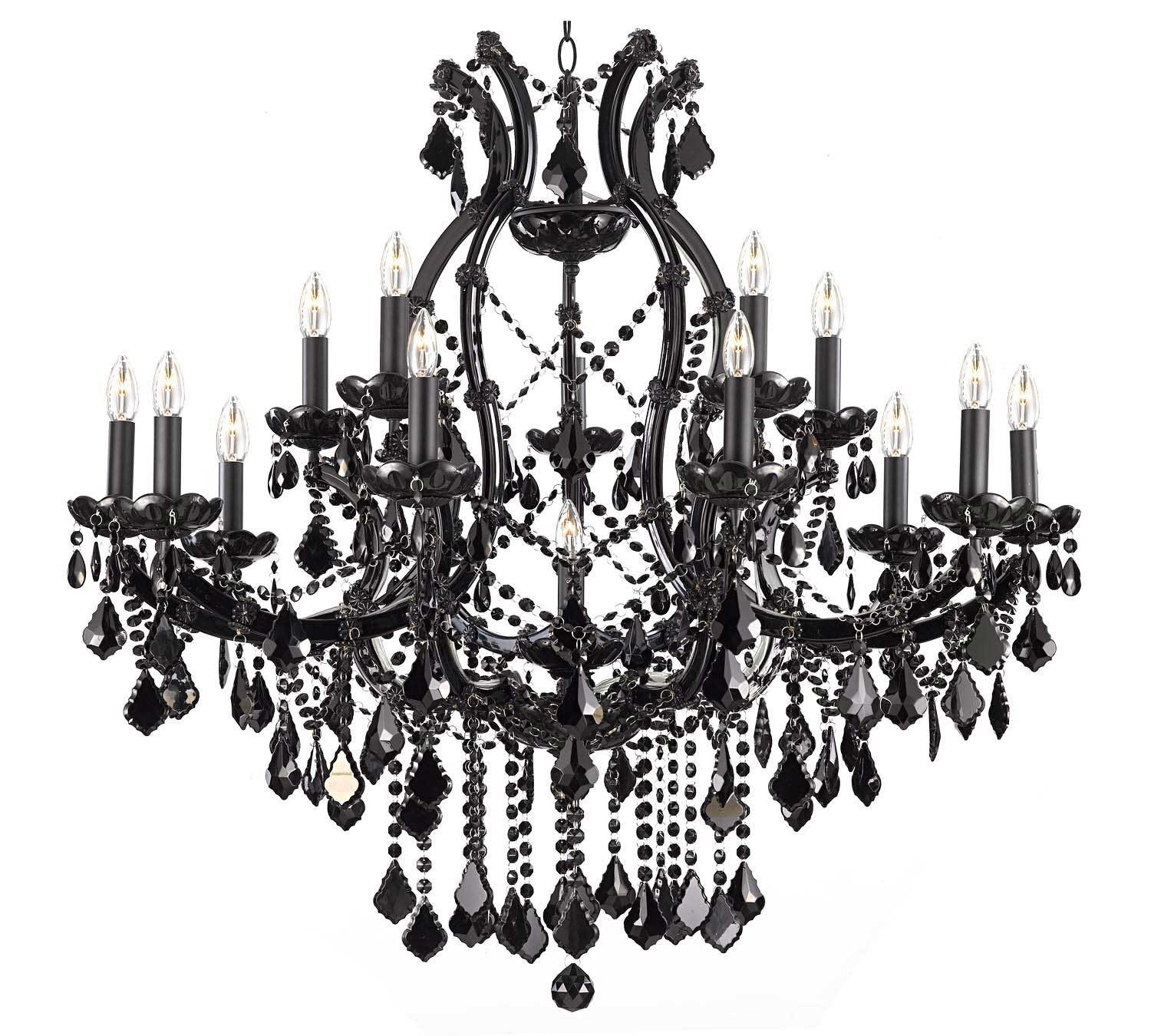 Dining Room Casbah Crystal Chandelier