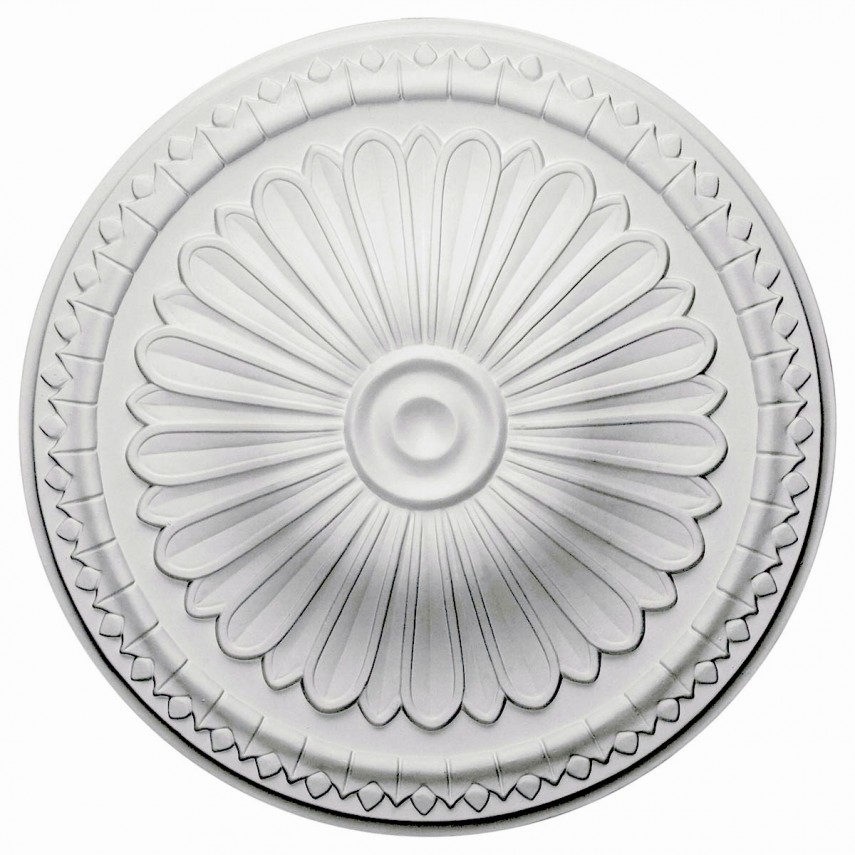 Ceiling Light Medallion | Ceiling Medallion | 36 Inch Ceiling Medallion