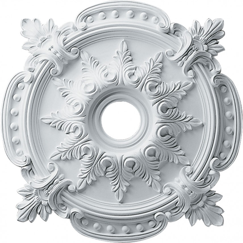 Ceiling Medallion | Ceiling Medallion Decal | Ceiling Medallion 2 Piece