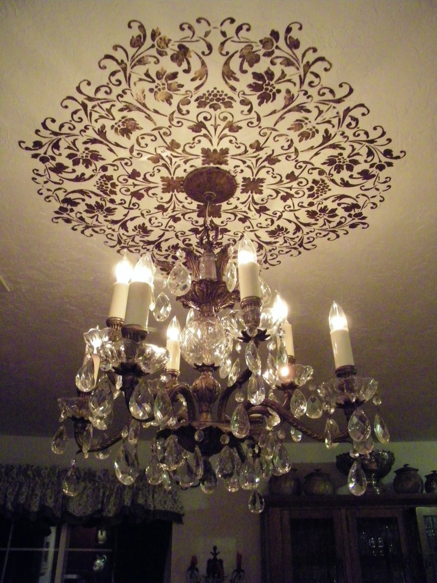 Ceiling Medallion | Ceiling Medallions For Light Fixtures | Chandelier Decorative Ceiling Plate