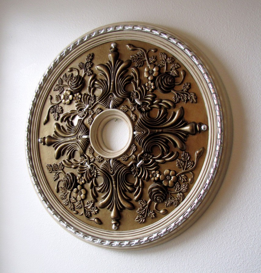 Ceiling Medallion | Decorative Chandelier Ceiling Plate | Ceiling Chandelier Medallion
