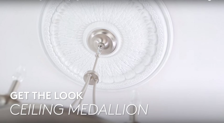 Ceiling Trim Lowes | Ceiling Medallions For Light Fixtures | Ceiling Medallion