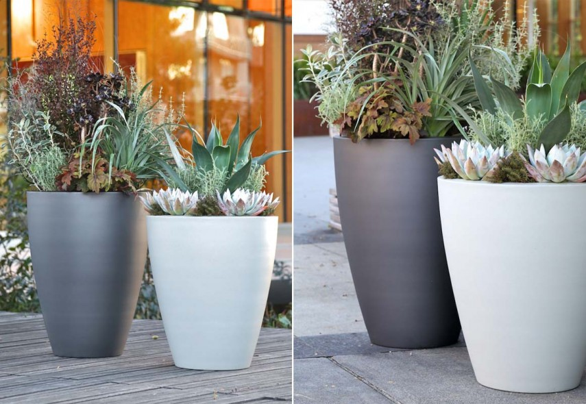 Ceramic Planter Pots | Home Depot Flower Pots | Tall Planters