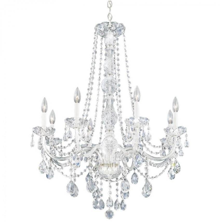 Chandelier Crystals | Antique Crystal Chandeliers | Ceiling Fan With Crystals