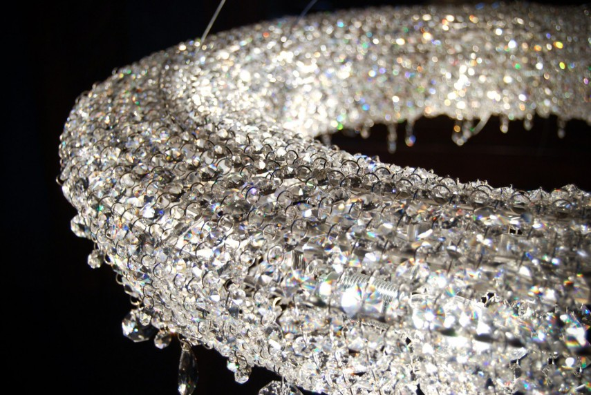 Chandelier Crystals | Chandelier Cristal | Bronze Chandelier With Crystals