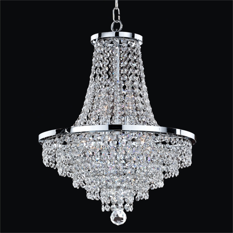Chandelier Crystals | Dining Room Crystal Chandeliers | Rectangle Crystal Chandelier