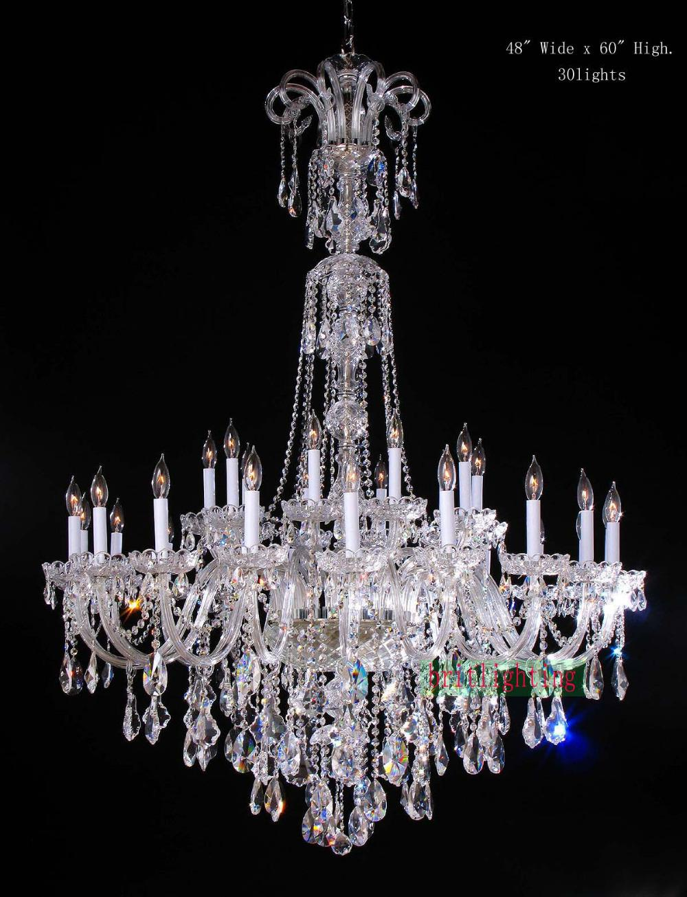 Chandelier Crystals | Lowes Crystal Chandeliers | Crystal Flush Mount Chandelier
