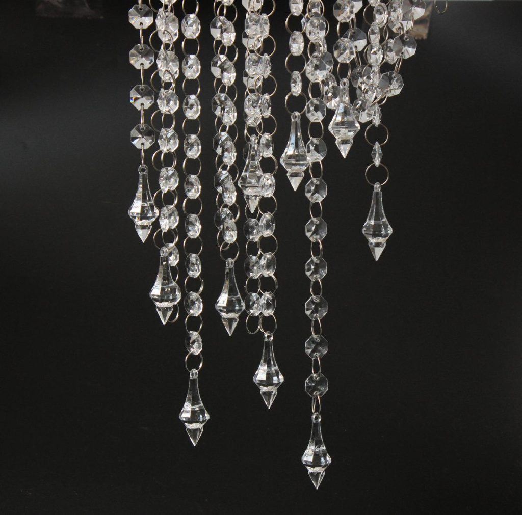 Chandelier Glass Cups | Chandelier Crystals | Crystal Dome Chandelier