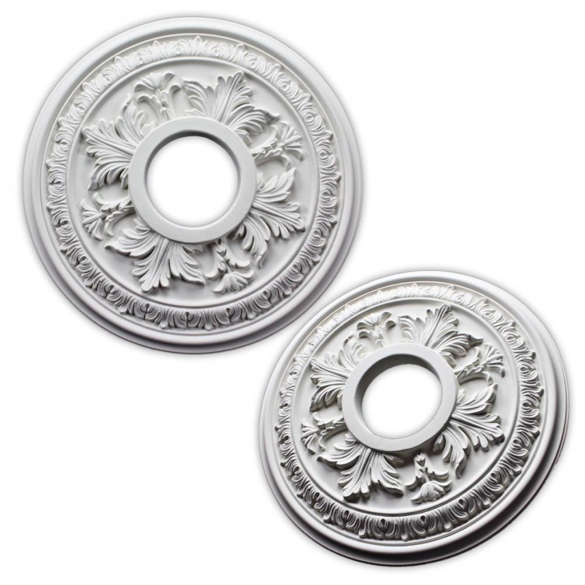 Chandelier Medallion Home Depot | Ceiling Medallion | Home Depot Lighting Accessories