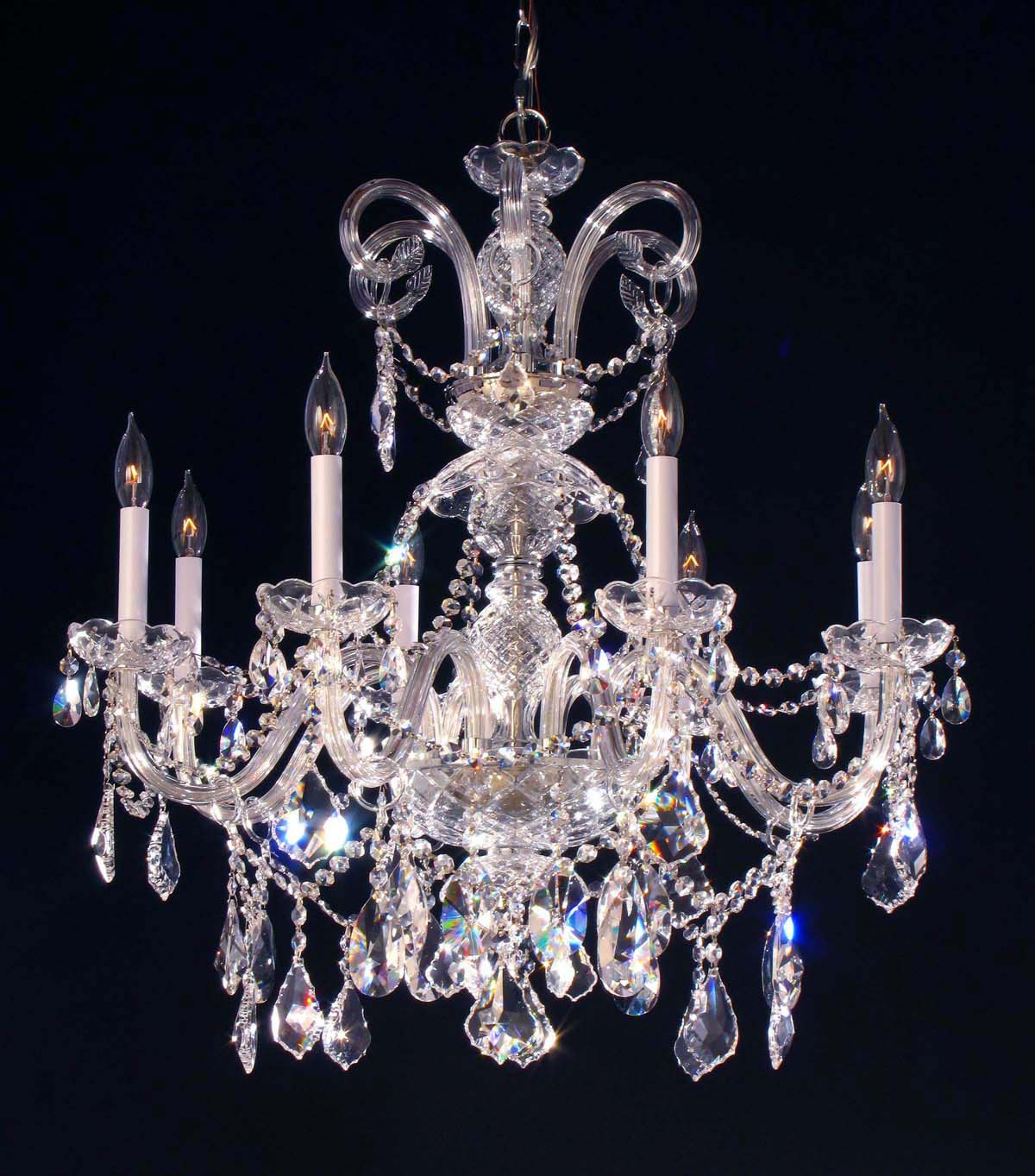 Dining Room Mesmerizing Chandelier Crystals For Home Lighting – Glass Chandelier Replacement Parts