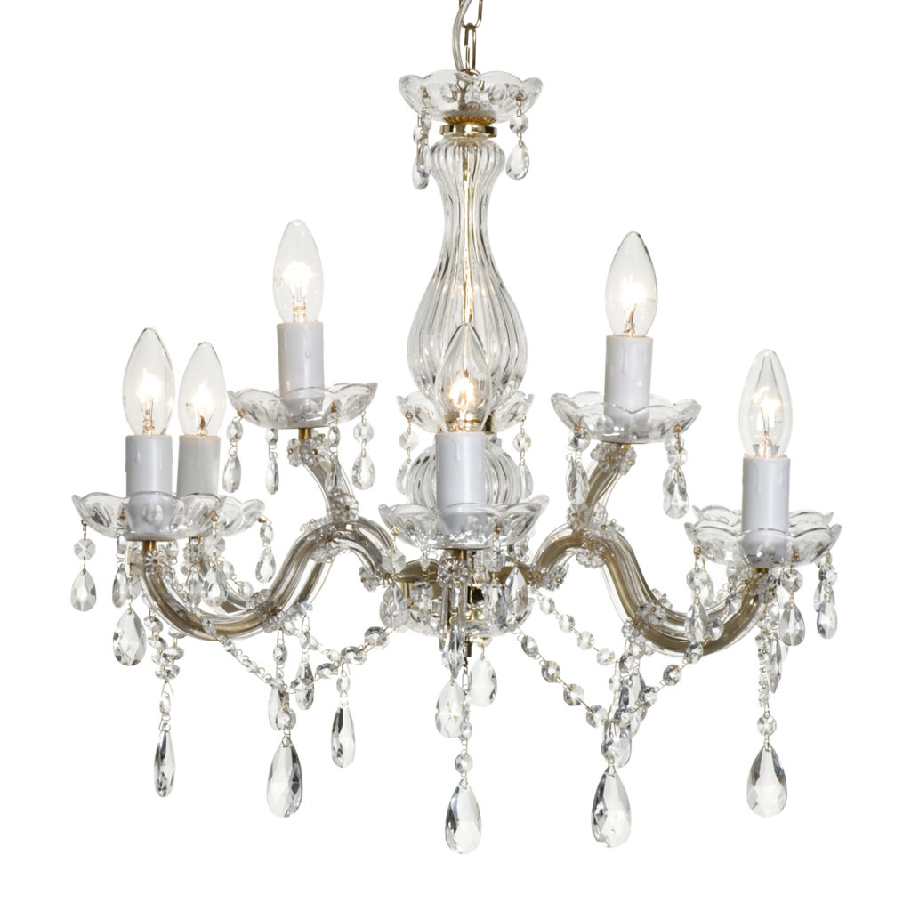 Dining Room: Mesmerizing Chandelier Crystals For Home