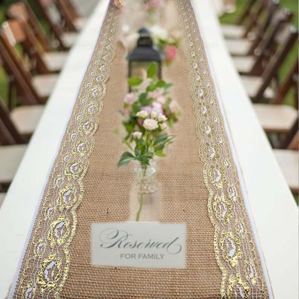Cheap Burlap Table Runners | Lace Table Runners | Linen Table Runners