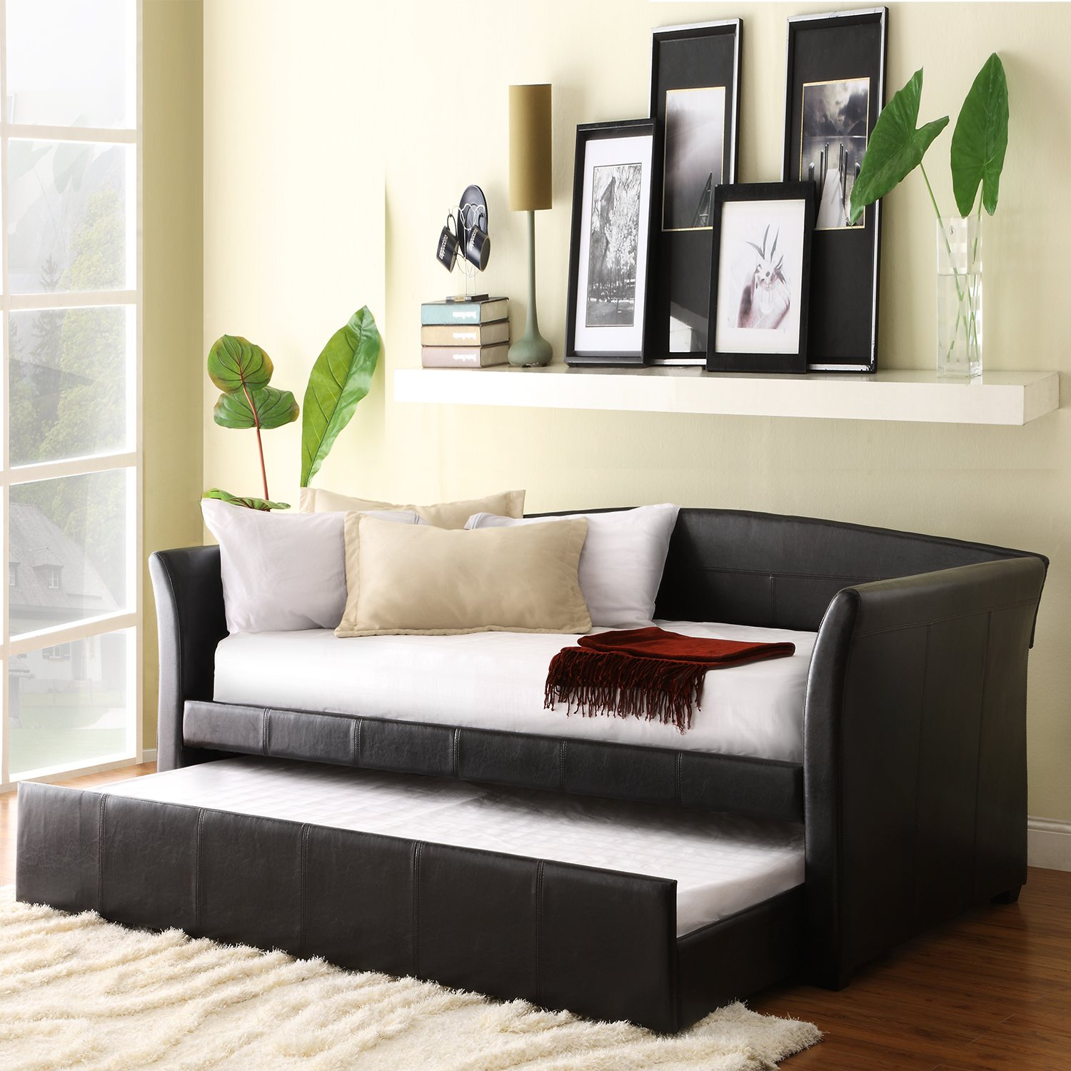 Cheap Daybeds | High Riser Bed | Daybeds with Pop Up Trundle