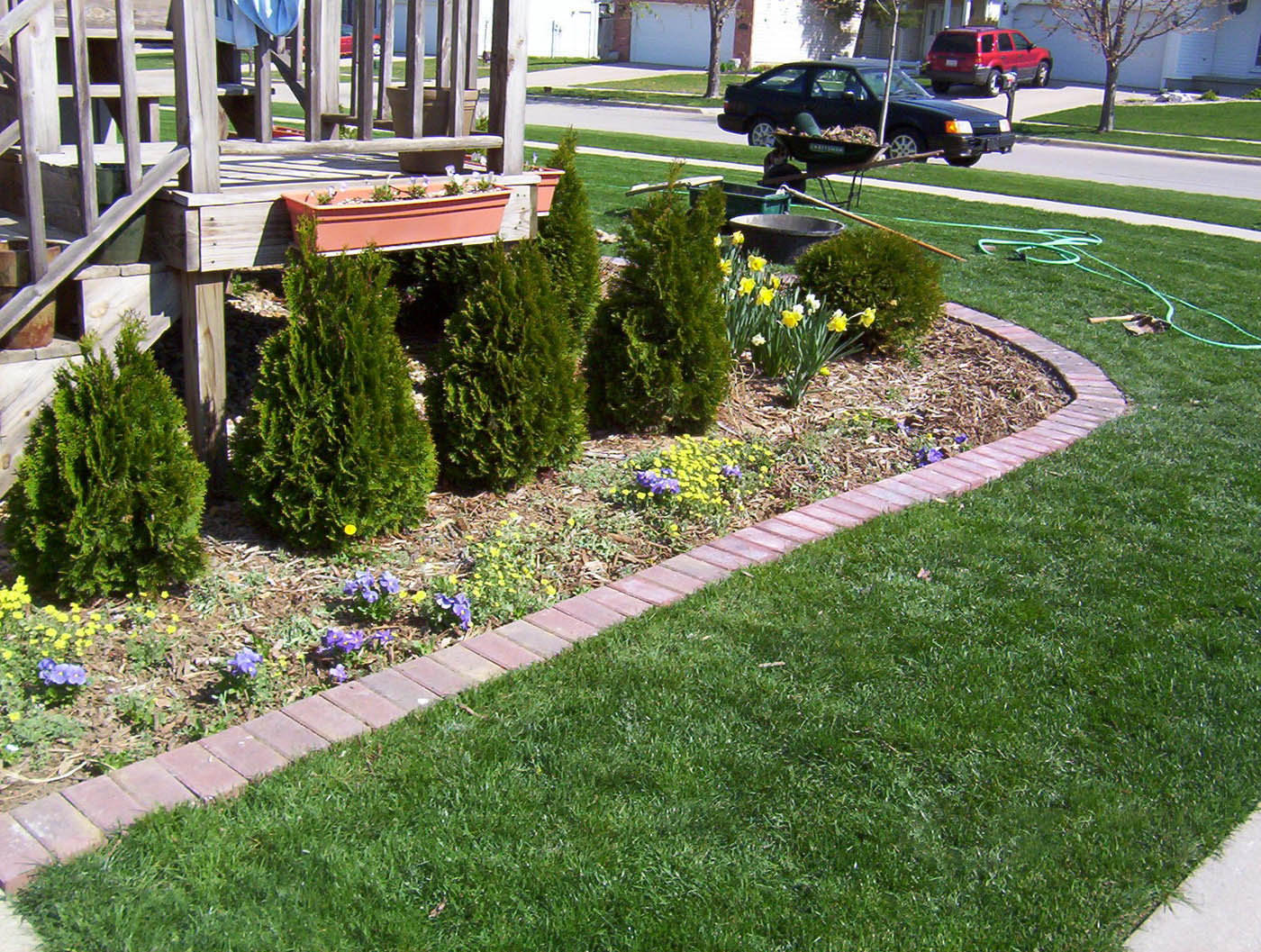 decor: cheap landscape border | lowes garden edging | landscape