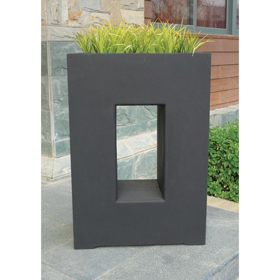 large planter products loire planters outdoor art rectangle v pros