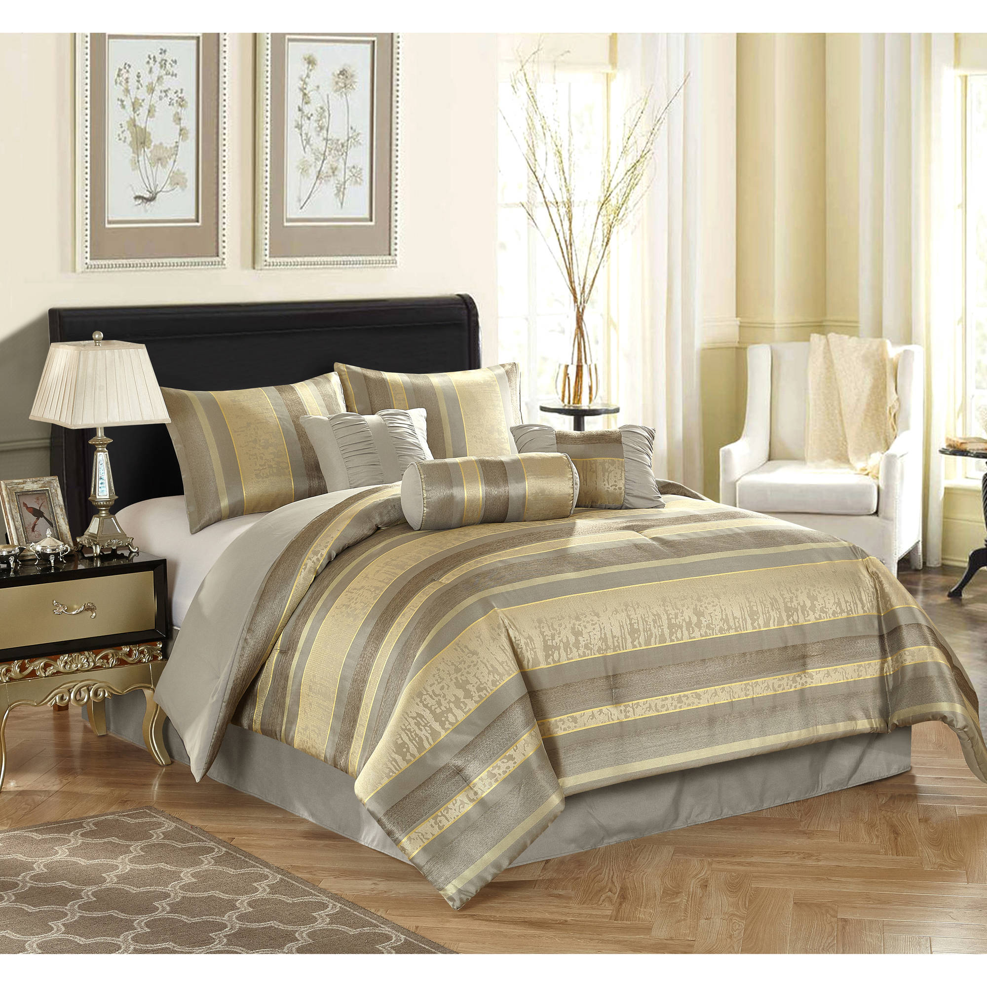Cheetah Print Bed Set Queen Size | Queen Size Bedding Sets | Queen Size Bed In A Bag Sets