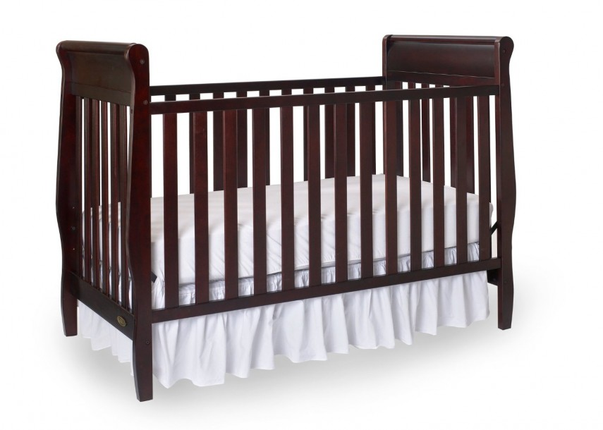 Cherry Wood Crib With Changing Table | Crib Furniture Sets For Cheap | Cheap Cribs
