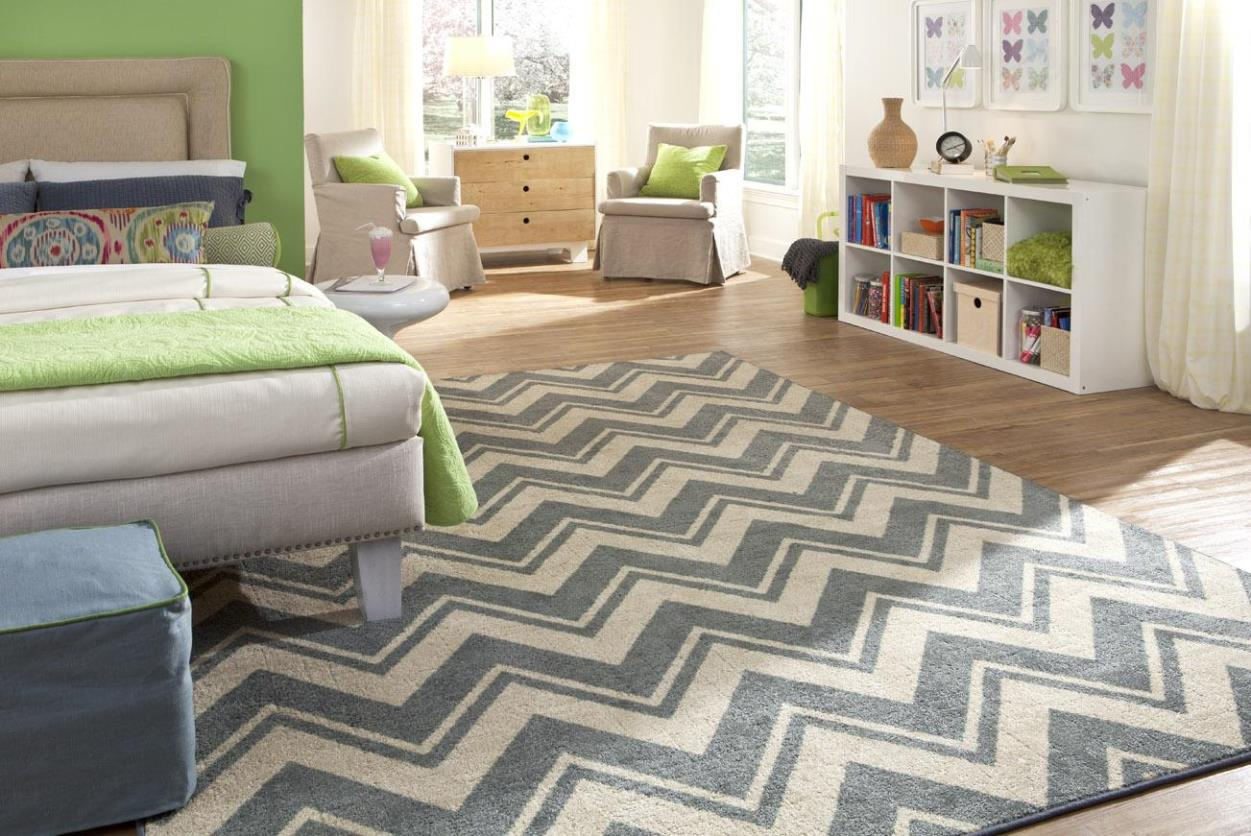 Chevron Rug | Beige and White Chevron Rug | Tan Chevron Rug
