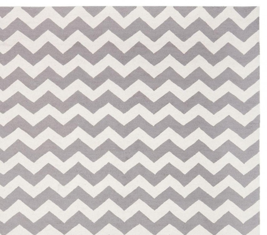 Chevron Rug | Chevron Rug Grey | Outdoor Chevron Rug