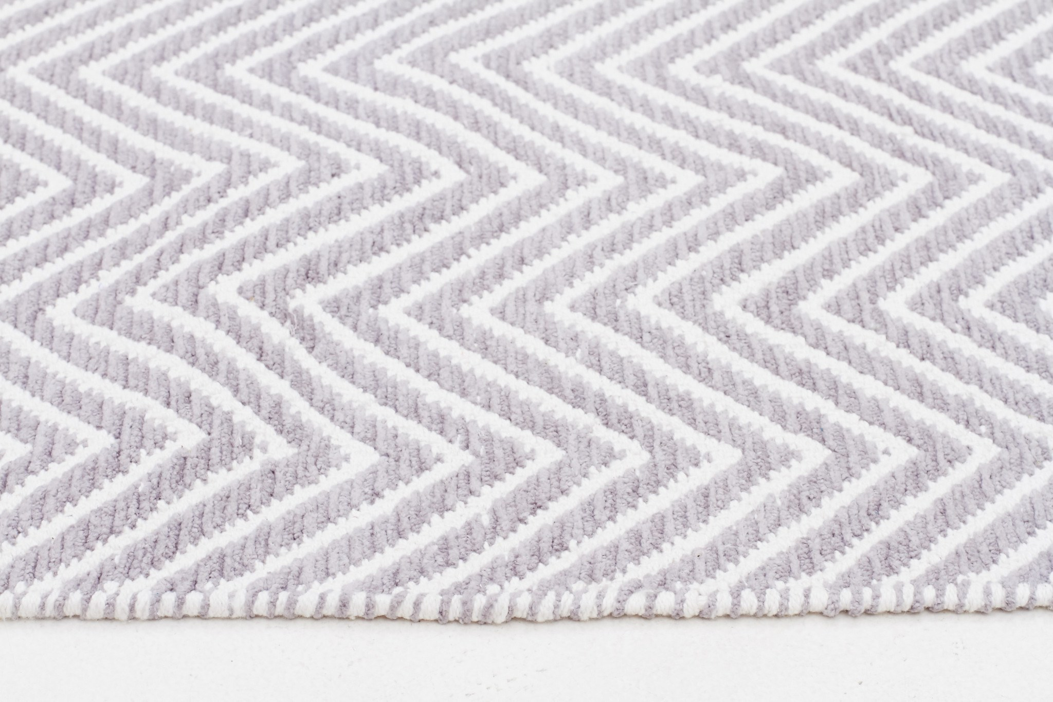 Chevron Rug Runner | Grey and White Chevron Rug 5x8 | Chevron Rug