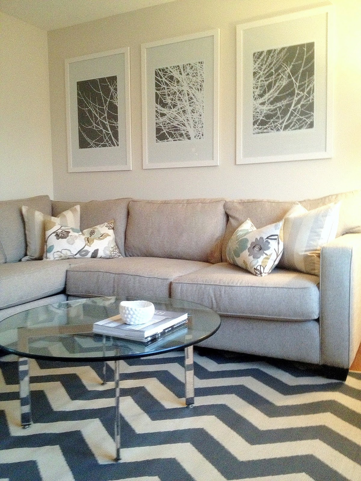 Round Rugs For Living Room Round Chevron Rug Rugs Ideas