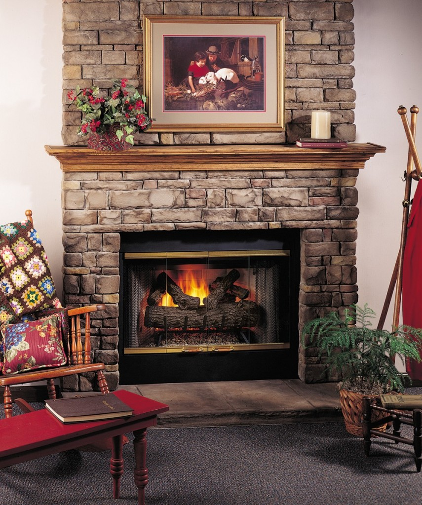 Chic Fmi Fireplaces Design | Entrancing Comfort Flame Fireplace