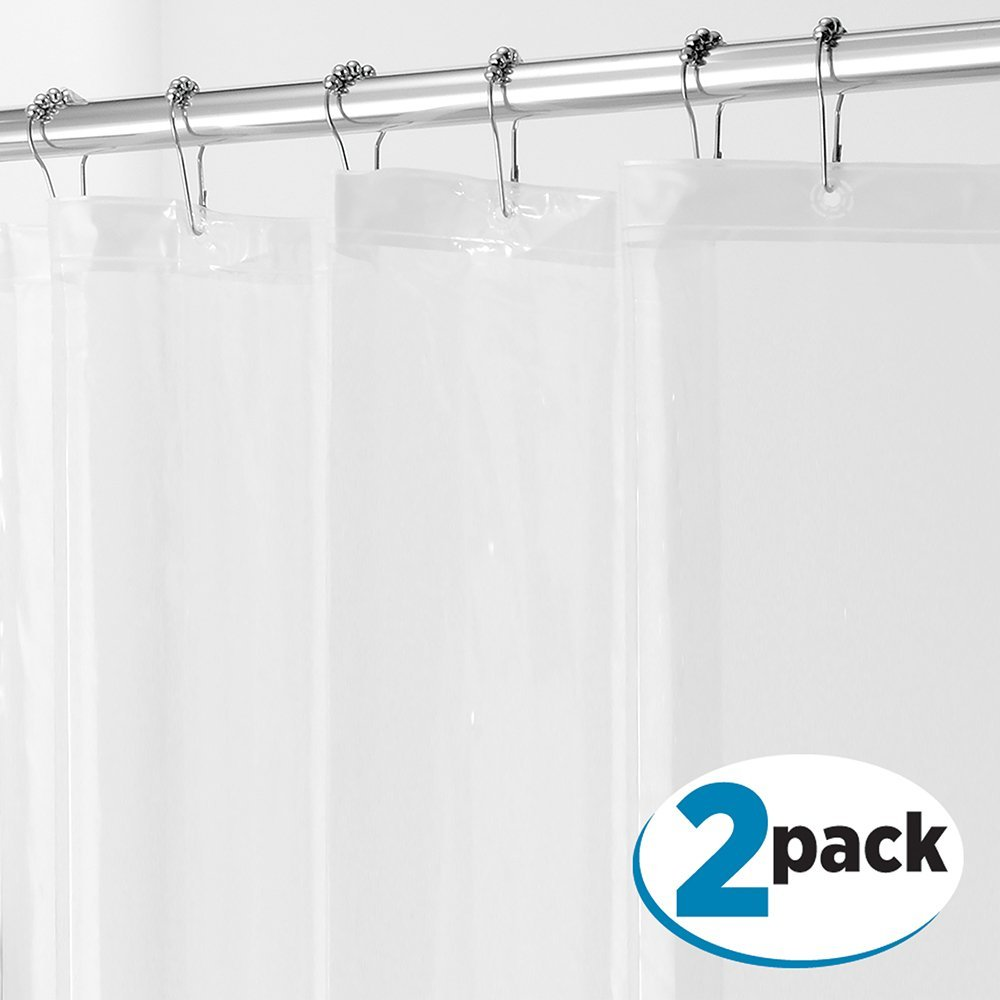 Clear Shower Curtain Liner | Shower Curtain and Liner | Shower Curtain Liner