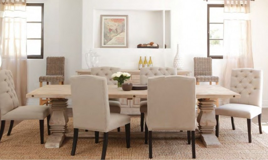 Cloth Dining Chairs | World Market Armchair | Tufted Dining Chair