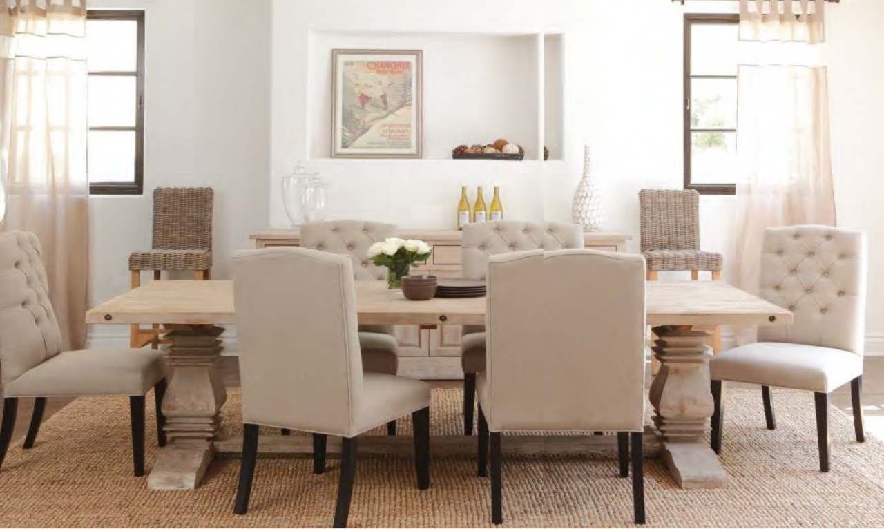 White wood dining table - Wooden Dining Room Chairs Classic Wooden Dining Table With Leaf