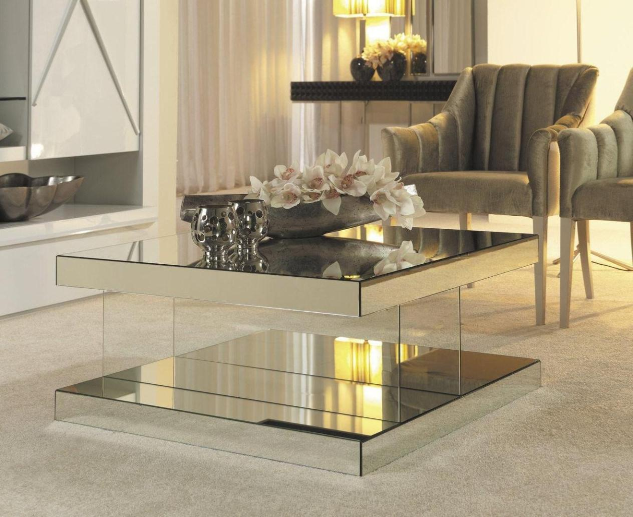 Coffee Table Mirror | Mirrored Coffee Tables | Mirrored Coffee Table