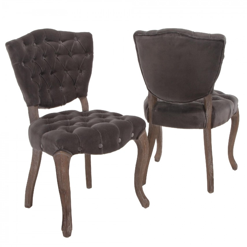 Colorful Dining Chairs | Tufted Dining Chair | Tufted Seat