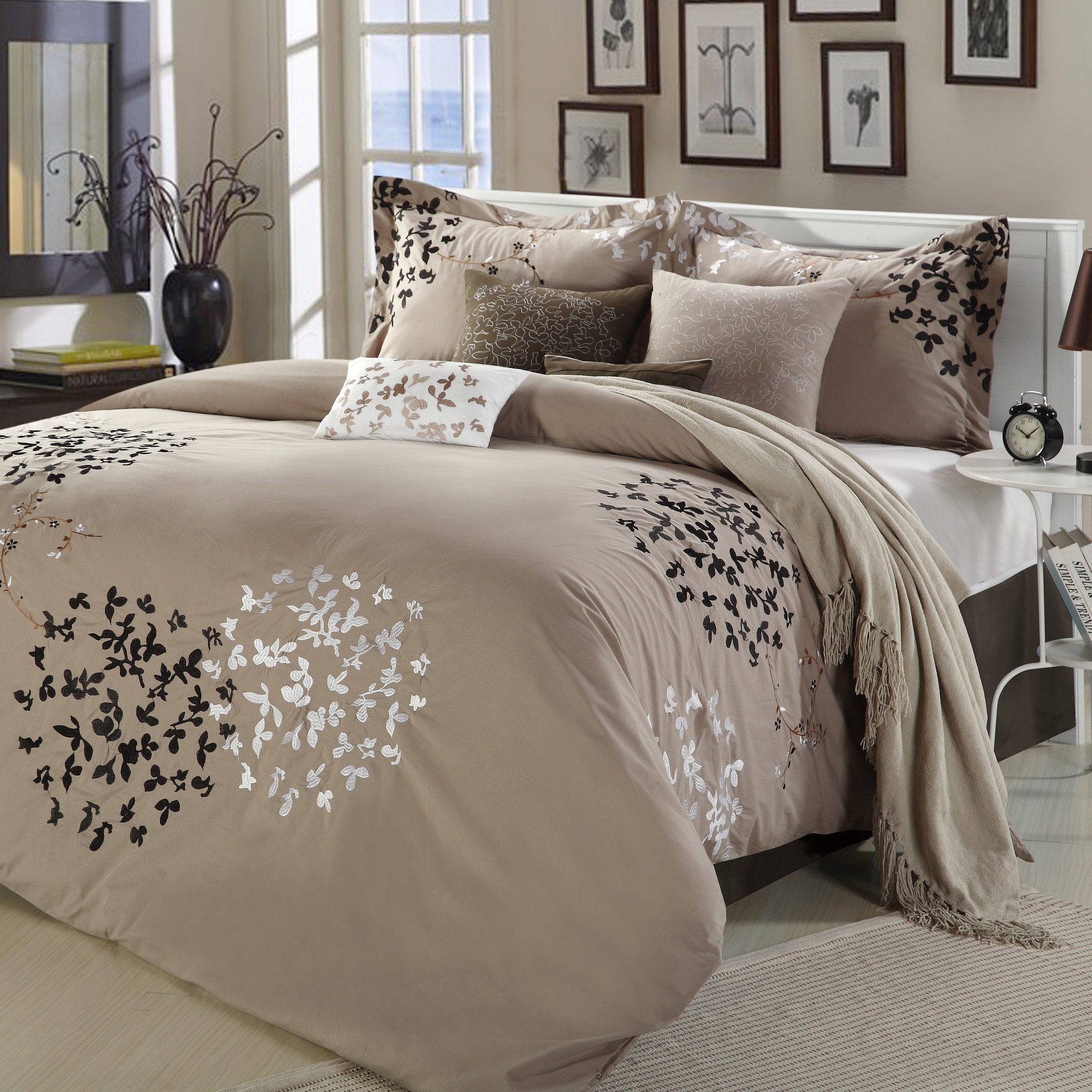 Complete Bed Sets Queen | Bed In A Bag Queen Comforter Sets | Queen Bedding Sets