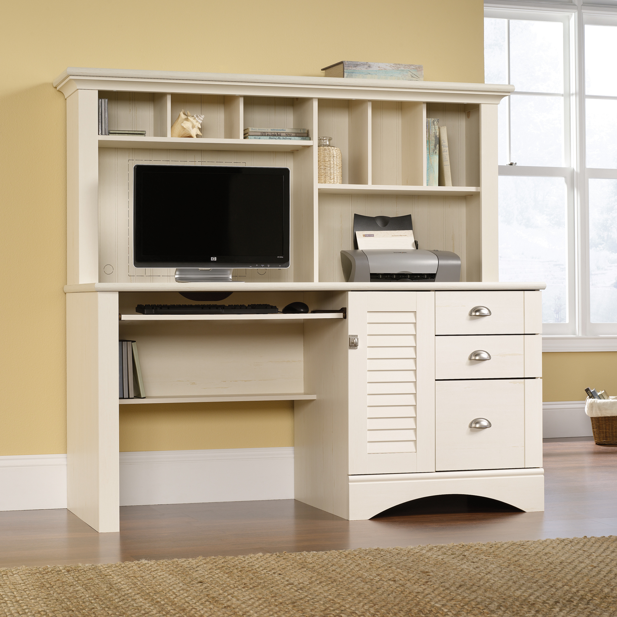 Computer Desk and Hutch | Computer Desks with Hutch | Sauder Computer Desks